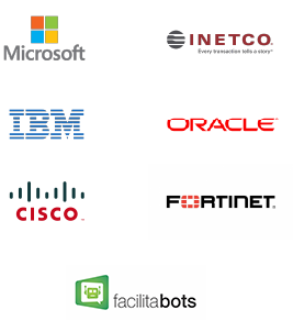 Software development, On-site and virtual banking software, Identity authentication, Artificial intelligence, Operations monitoring